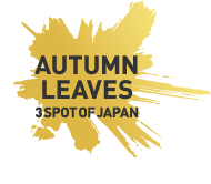 AUTUMN LEAVES 3SPOT OF JAPAN 日本三大紅葉の里